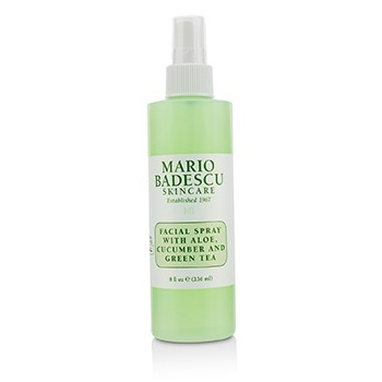 Facial Spray With Aloe, Cucumber And Green Tea - For All Skin Types236ml/8oz